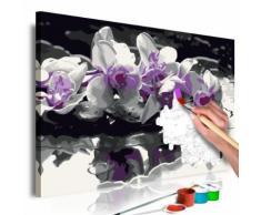 60x40 Tableau à peindre par soi-même Kits de peinture pour adultes Moderne même - Décoration murale
