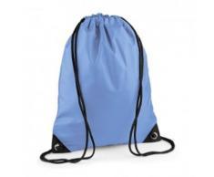 Sac à dos à bretelles - gym - linge sale - chaussures - BG10 - bleu laser - Sac à dos bandoullière