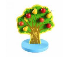 Chaîne en Bois Arbre Puzzle Éducatif Développement Bébé Enfants Formation Jouet Multicolore WEN281 - Jouet multimédia