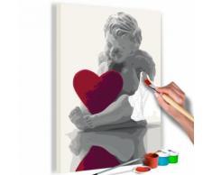 40x60 Tableau à peindre par soi-même Kits de peinture pour adultes Distingué même - Décoration murale