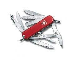 Couteau Suisse de Poche - Victorinox MiniChamp - 0.6385 - Rouge - 16 Outils - Couteau