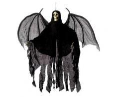 Décoration Halloween Squelette avec Ailes (1,05m) - Article de fête