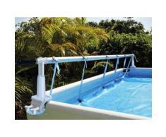 Enrouleur de bâche à bulles Solaris 2 pour piscine hors-sol - Kokido - Accessoires piscines, spa et jacuzzis