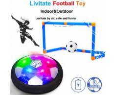 LED Air Power Training Soccer Ball Football Goal Set Ball Suspension avec 2 porte Pealer1982 - Jeux d'éveil