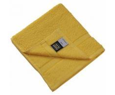 Serviette de toilette - éponge - MB437 - jaune - Linge de bain