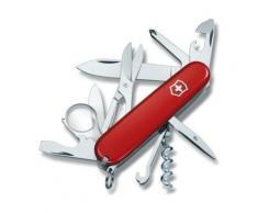 Couteau Suisse de Poche - 16 Pieces - Victorinox Explorer - 1.6703 - Rouge - Couteau