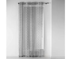 Voilage a oeillets 140 x 240 cm voile imprime transfert tribal art - Rideaux et stores