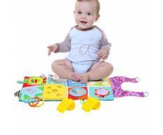 de Développement Éducatif Tissu Lit Toy Book pour Connaître Kid Bébé Multicolor RA306 - Jouets à manipuler