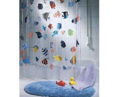 Spirella 10.21960 rideau de douche fish multicolor vinyl 180 x 200 cm - Rideaux enfant