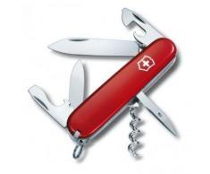 Couteau Suisse multifonction Victorinox Spartan 91mm 13 fonctions - 1.3603.T - Acier inoxydable - Acrylique - Rouge translucide - Objet à poser