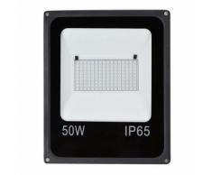 Lampe-spot RVB imperméable extérieur 50W LED avec télécommande - Appliques et spots