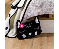 Coussin range pyjama Pussycat rose 30 x 40 cm Les Ateliers du Linge - Textile séjour