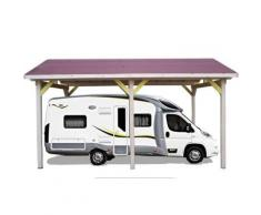 Habrita - Carport Pour Camping-Car - Mobilier de Jardin