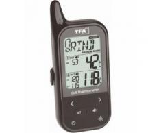 TFA 14.1511.01 Thermomètre de barbecue alarme, capteur filaire, température du four et à coeur - Équipements électriques