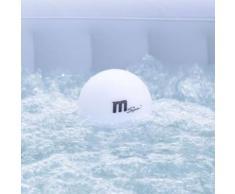 Lampe flottante pour spa gonflable MSPA Ø12cm, LED pour spa, 16 couleurs, rechargeable, télécommande - Accessoires piscines, spa et jacuzzis