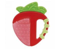 Chicco anneau de dentition Strawberry junior 8,5 x 7,5 cm silicone rouge - Anneaux de dentition