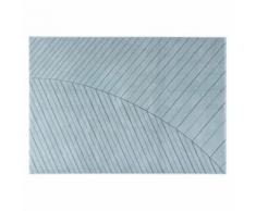Tapis moderne bleu clair 160 x 230 cm PALM - Tapis et paillasson