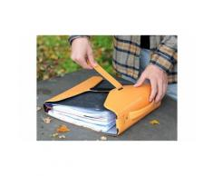 YAKA Le Porte- Classeur Orange - Conférencier, porte document
