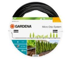 Gardena - Tuyau à goutteurs incorporés de surface Micro-Drip - 25 m- 4 l/h - Matériel d'arrosage