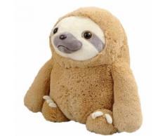 Peluche Mignon Cartoon Jouets Kawaii Sloth Doux Poupées Enfants Bébé Enfant Cadeau 15.7In Marron WEN279 - Jouet multimédia