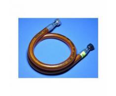 Flexible Gaz inox 1 mètre - tuyau de gaz inox - Accessoires pour barbecue et fumoir