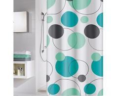 Cycle rideau de douche peva étanche design 180 x 200 cm turquoise - Rideaux enfant