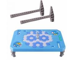 Bloc de Glace Casser Table de jeu Penguin Jeu Building Blocks Puzzle Enfants Bébé Cadeau Bleu PT309 - Jouet multimédia