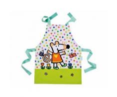 Tablier de cuisine vert mimi la souris - petit jour paris - Autres Jeux créatifs
