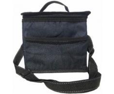 Sac Repas Déjeuner glacière Isotherme Imperméable Pliable Lunch Bag ( Bleu ) - Sacs de plage