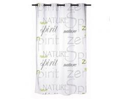 Douceur d'interieur 6rd140 nature zen rideau de douche avec motifs polyester 180 x 200 cm - Rideaux enfant
