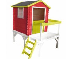 Petite cabane en bois pour enfant sur pilotis - Zoe - Maisons de jardin