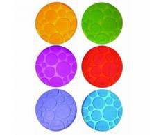 6 cercles antidérapants Munchkin pour baignoire - Accessoire piscine