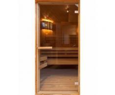 Artgeist - Papier-peint pour porte - Sauna 70x210 - Décoration des murs