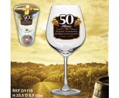verre a vin 50aine - Article de fête