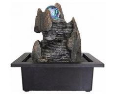 Zen Light - Fontaine d'intérieur boule en rotation Scala - Objet à poser