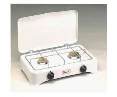 Réchaud Gaz 5326C Blanc - Grillade et barbecue