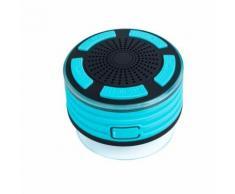 Haut-Parleurs Portables Bluetooth Sans Fil avec Radio Douche Haut-Parleur Ipx7 Ventouse Wenaxibe 401 - Enceinte sans fil