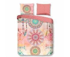 Muller Textiles - Parure de lit AGRUMES Multicolore 200x200 cm - Linge de lit