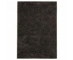 Homgeek Tapis à poils Longs pour Chambre ou Salon 80 x 150 cm Anthracite - Textile séjour