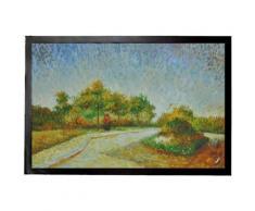 Vincent Van Gogh Paillasson Essuie-Pieds - Vue Du Parc Voyer DŽArgenson À Asnières, 1887 (60x40 cm) - Tapis et paillasson