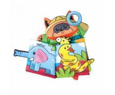 Animaux En Tissu Pour Enfants Livre Bébé Tissu Marionnette Jouet En Tissu Education Livre BT494 - Autre jeu d'imitation
