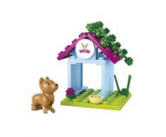 Jeu de construction Sluban Elements Girls Dream Series Niche à chien - Autres jeux de construction