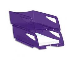 Maxi corbeille à courrier 220H HAPPY de coloris Ultra violet - Corbeille, bac à courrier, poubelle