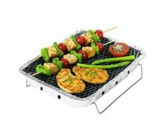 Barbecue Jetable Rayen (30,5 x 23,7 cm) - Cuisiner en extérieur