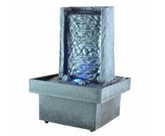 Fontaine d'intérieur zen à LED - Eclairage d'ambiance - Objet à poser