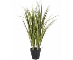 Plante artificielle haute gamme Spécial extérieur / Herbe artificielle POTEE - Dim : 75 x 50 cm -PEGANE- - Plantes artificielles