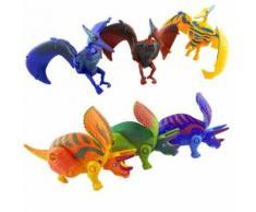 12Pcs Creative Transform Dinosaur Animaux Bébé, Enfant Jouets Early Education Multicolore PT130 - Jouet multimédia