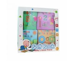 Livre en Tissu Bébé Enfant Garçon Fille Développement Intellectuel Jouet Éducatif Wj084 - Autres