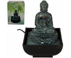 Mini-Fontaine d'intérieur Bouddha Assis 16 cm - Objet à poser