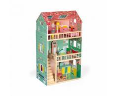 Maison de poupées Janod Happy Day Vert - Autre jouet en bois